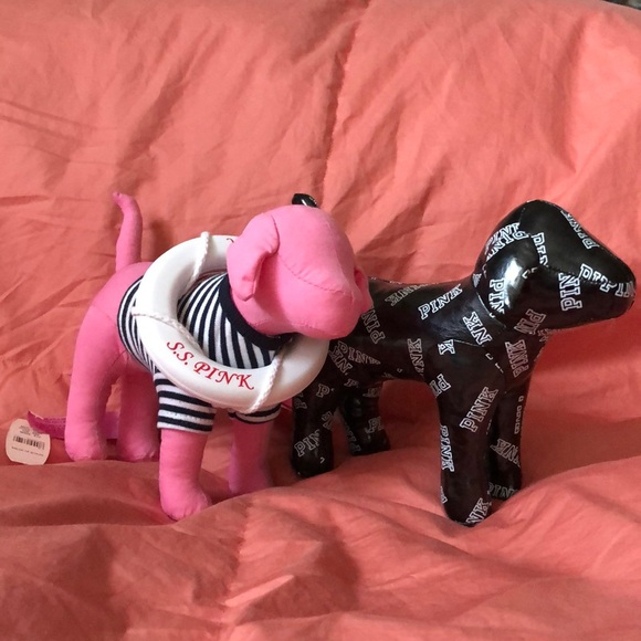 PINK Victoria's Secret Other - 2 Pink dogs